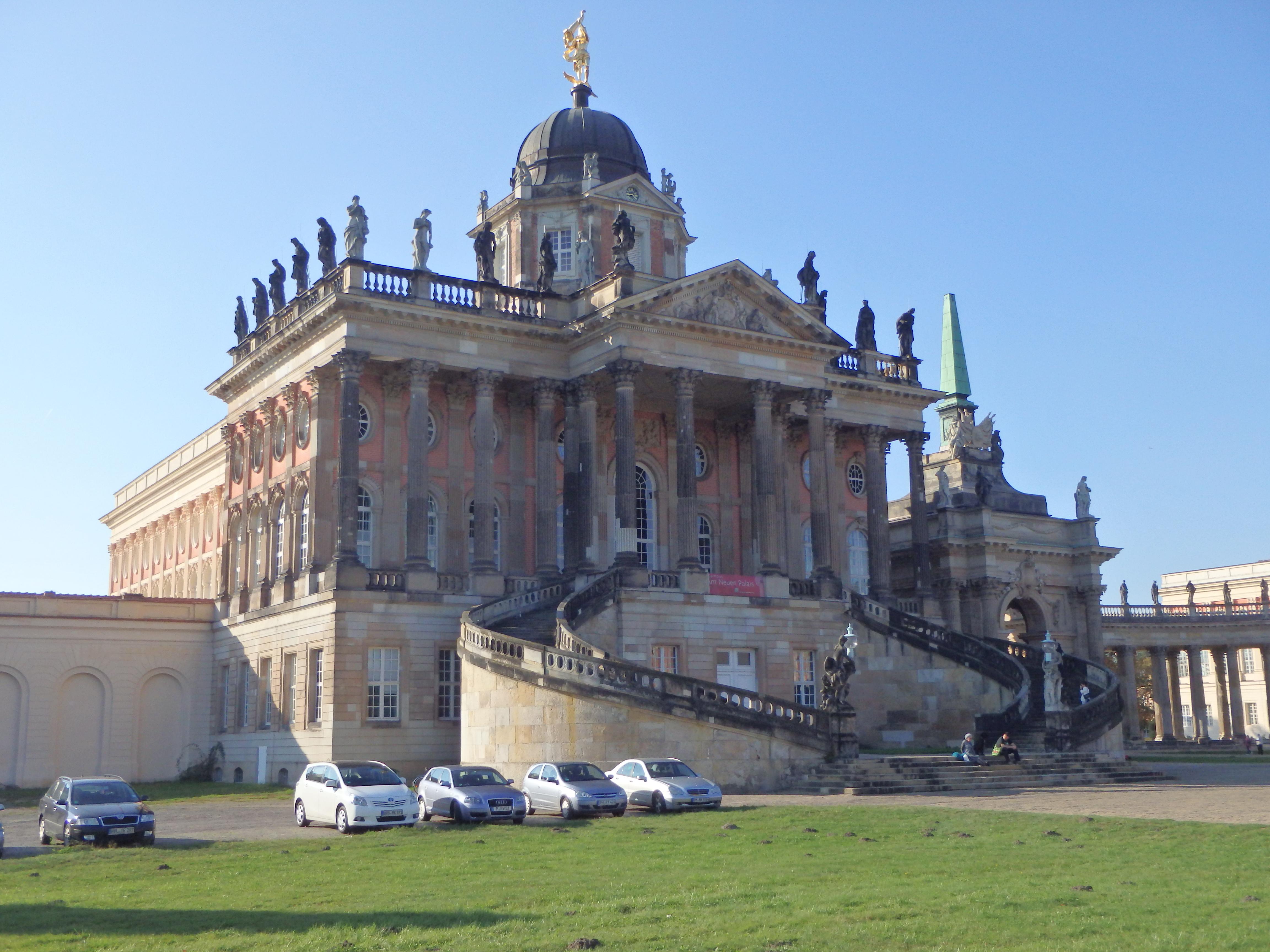 Neues Palais Uni Potsdam