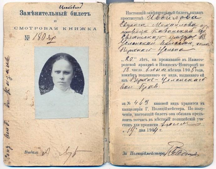 паспорт замужней шлюхи