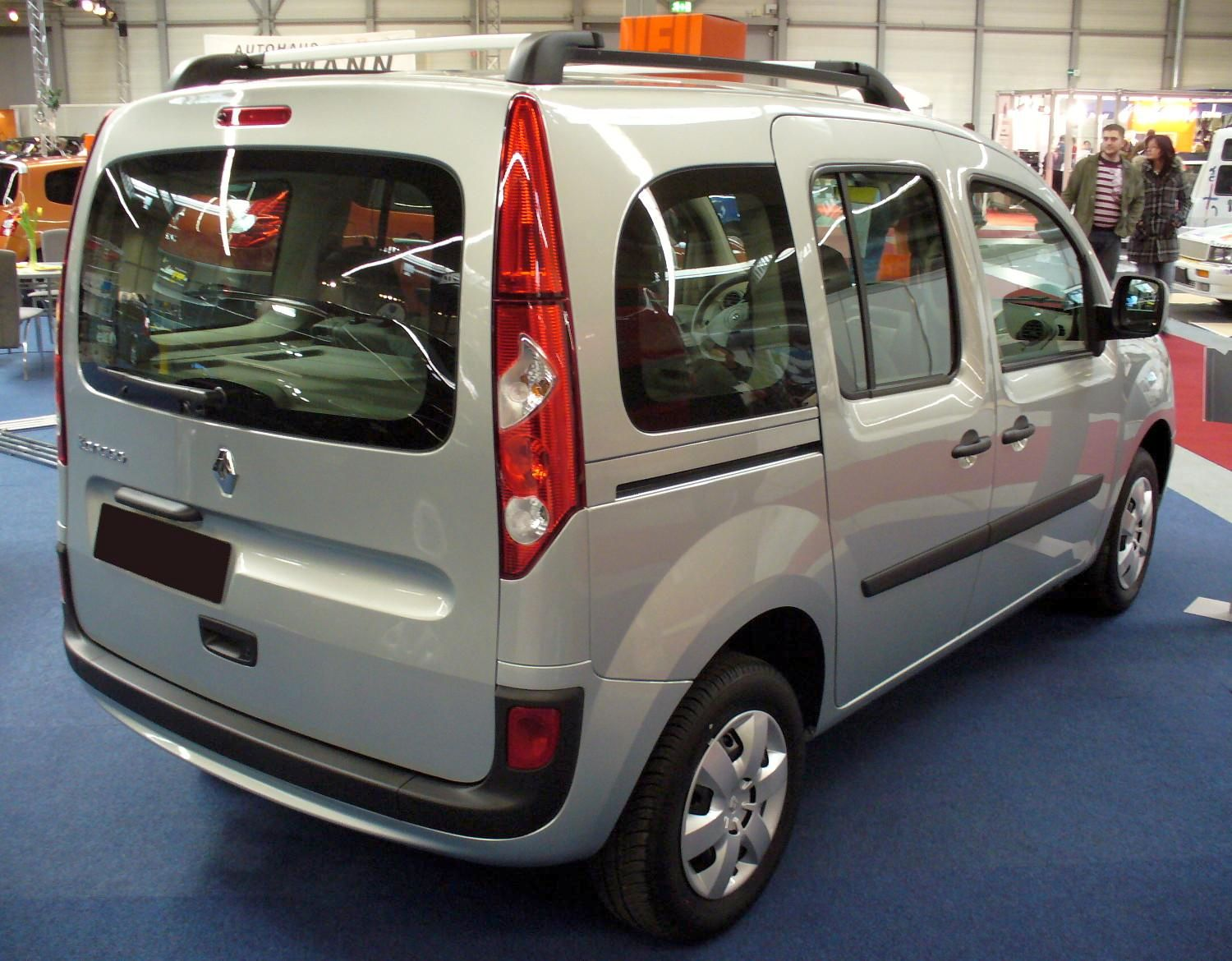 file renault kangoo ii heck jpg wikimedia commons. Black Bedroom Furniture Sets. Home Design Ideas