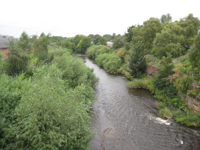River Caldew, Carlisle - geograph.org.uk - 959647