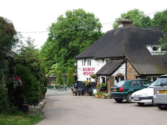 Robin Hood, Blue Bell Hill - geograph.org.uk - 1351230