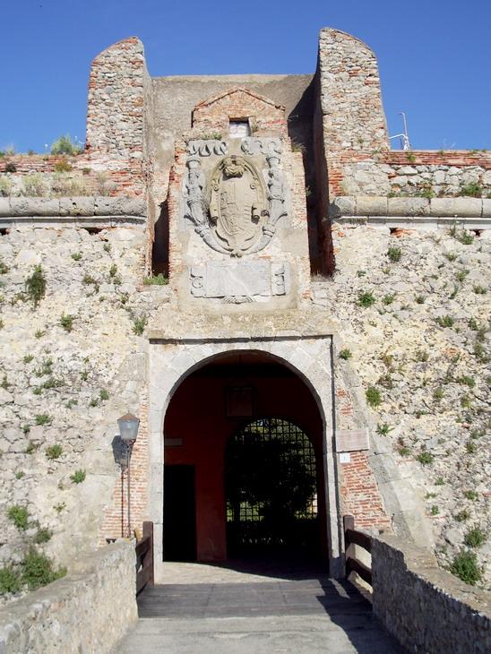 Rocca aldobrandesca Porto Ercole Ingresso