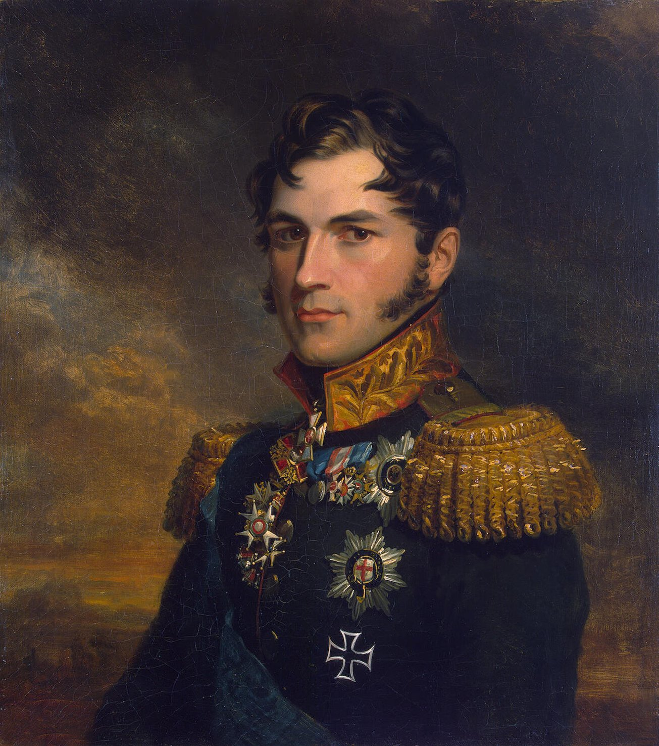 King Leopold I, elected founder of the hereditary monarchy of Belgium.