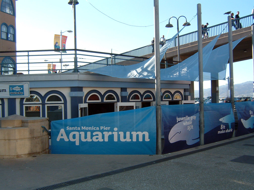 Santa Monica Pier Aquarium Wikipedia