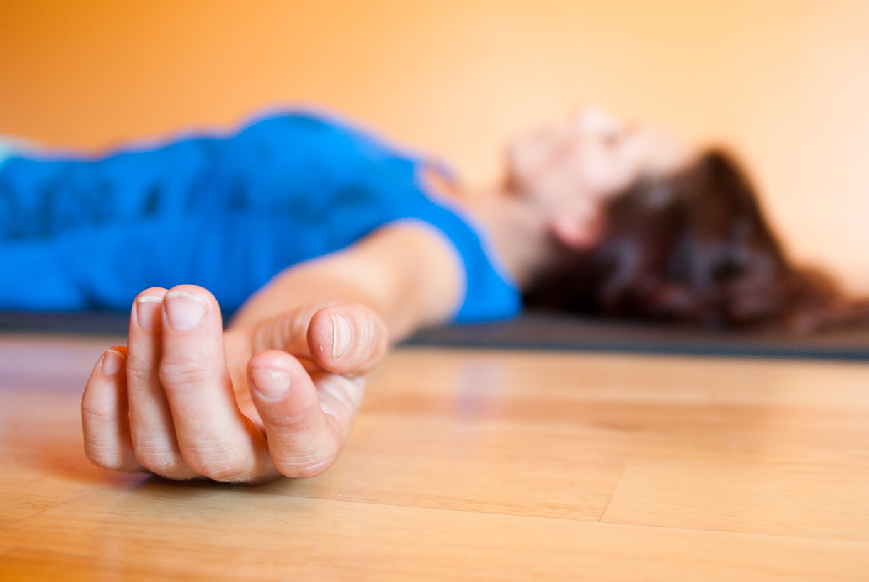 How Savasana Heals a Wounded Heart. ~ Katy Bills | elephant journal