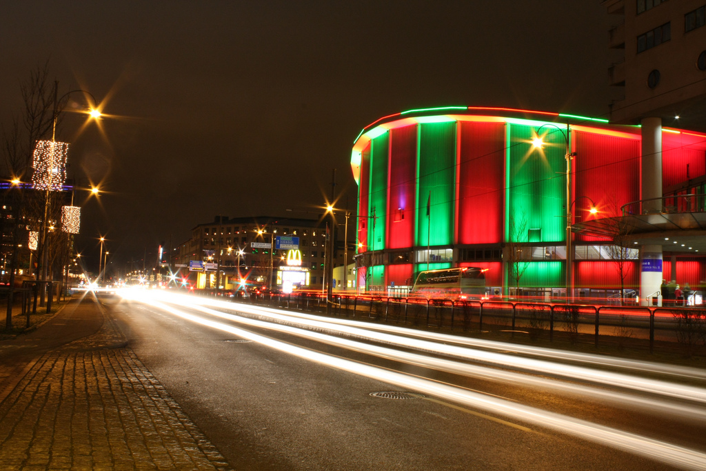 Scandinavium viewed from south