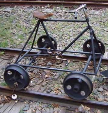 Schienenfahrrad