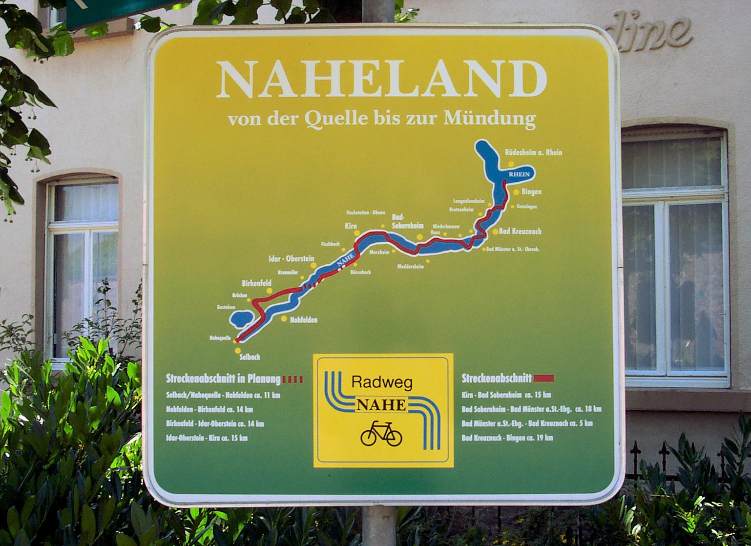 Mosel Radweg Karte Pdf.Nahe Radweg Wikipedia