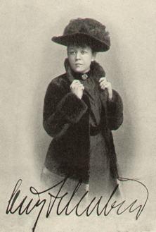 Ossip Schubin, ''ca.'' 1896