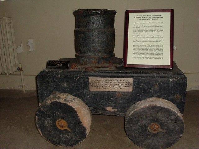 Siege Engine in basement Kedleston Hall - geograph.org.uk - 928425