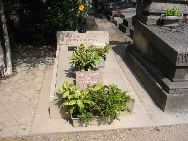 Grab von Yves Montand