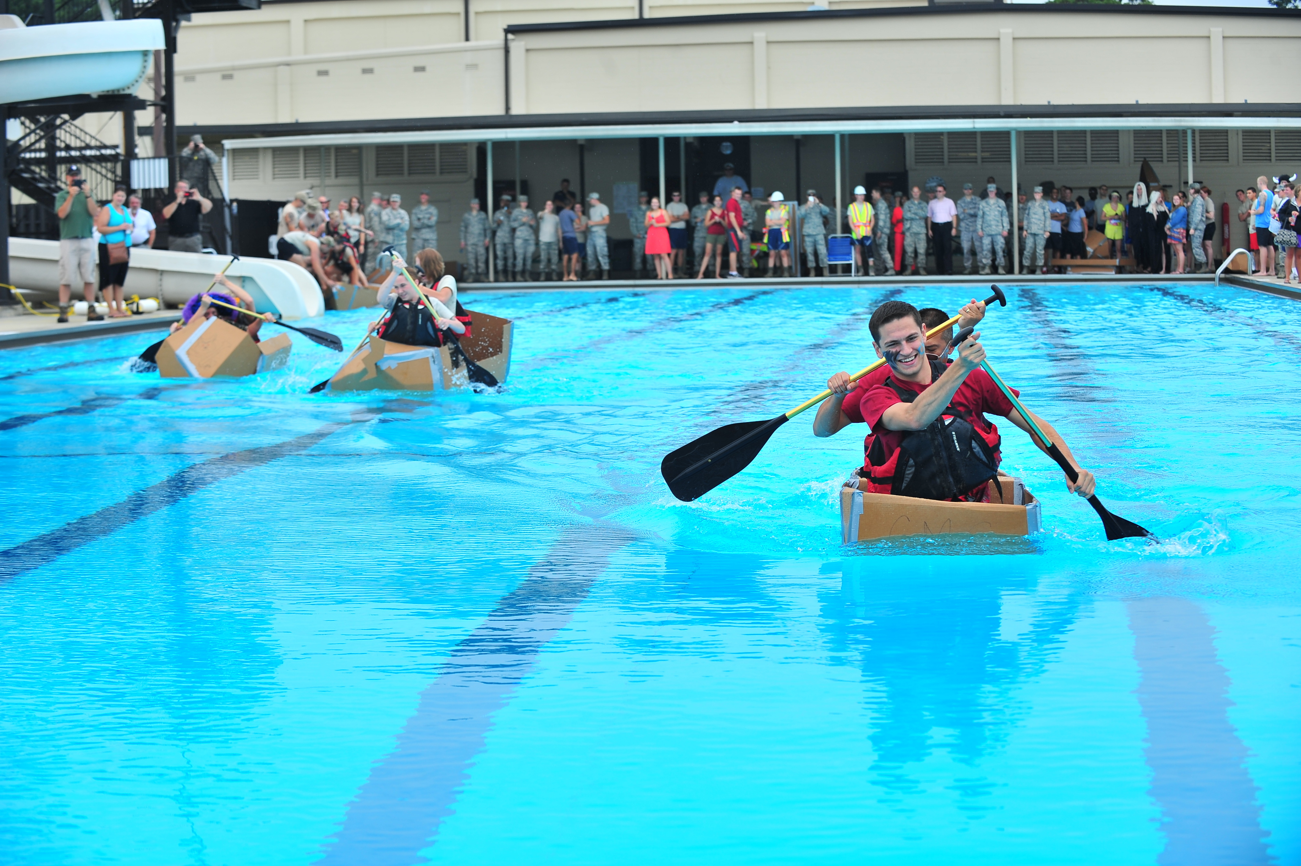 File sink or swim 130814 f yc840 wikimedia commons - Seymour johnson afb swimming pool ...