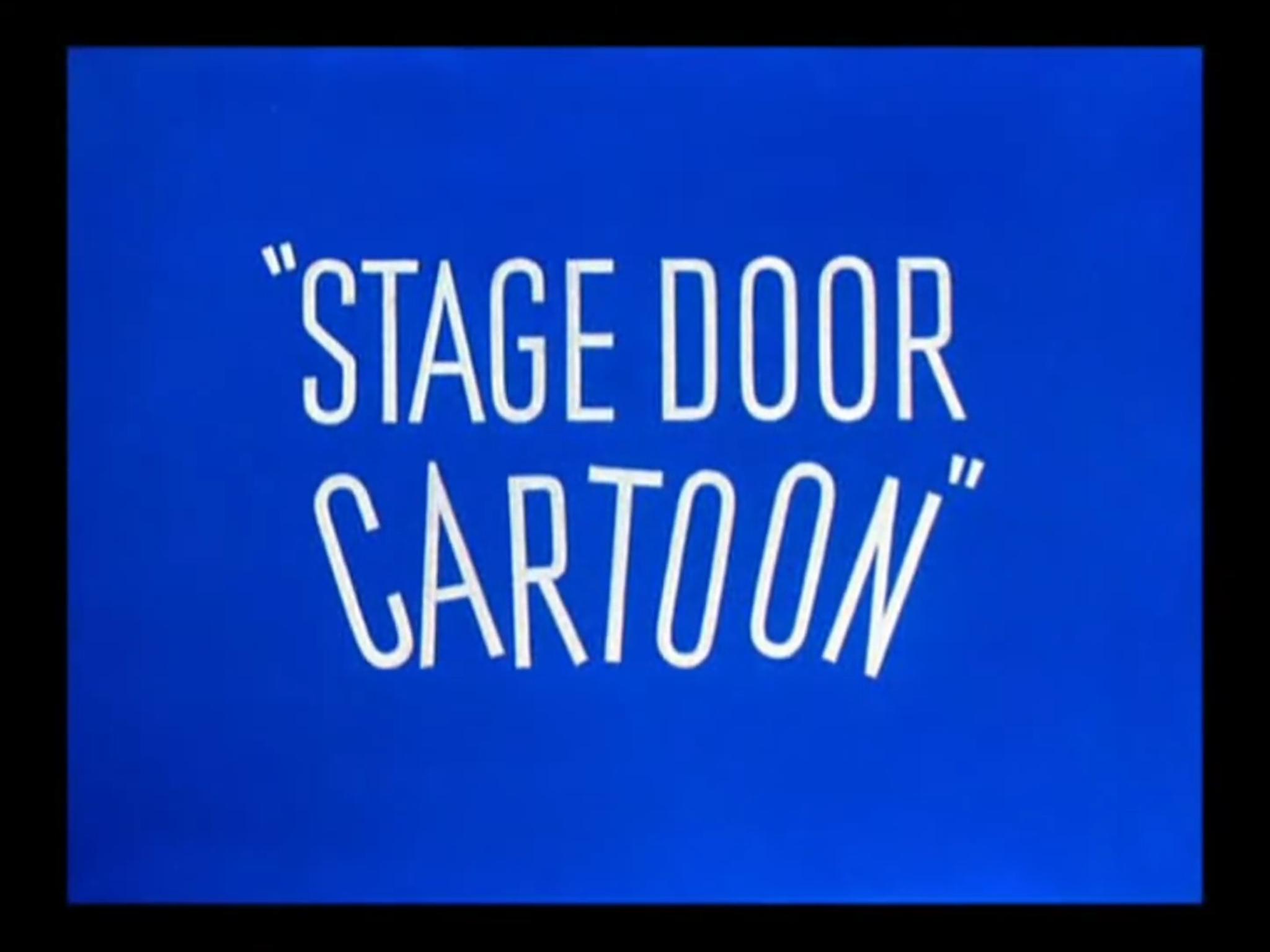 sc 1 st  Wikipedia & Stage Door Cartoon - Wikipedia