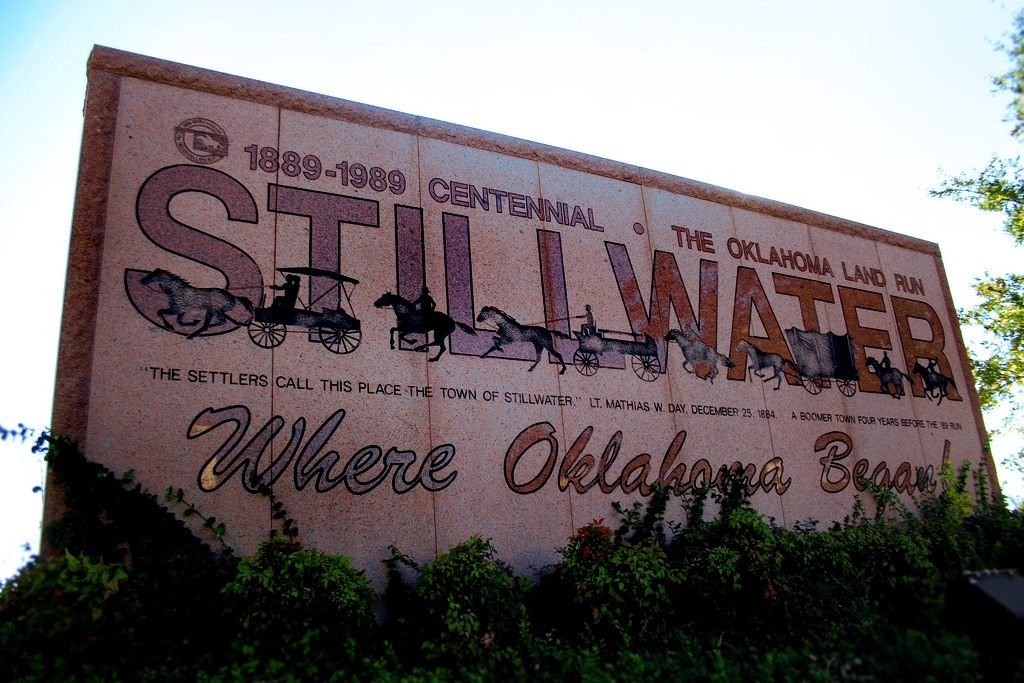 stillwater oklahoma happiest small towns