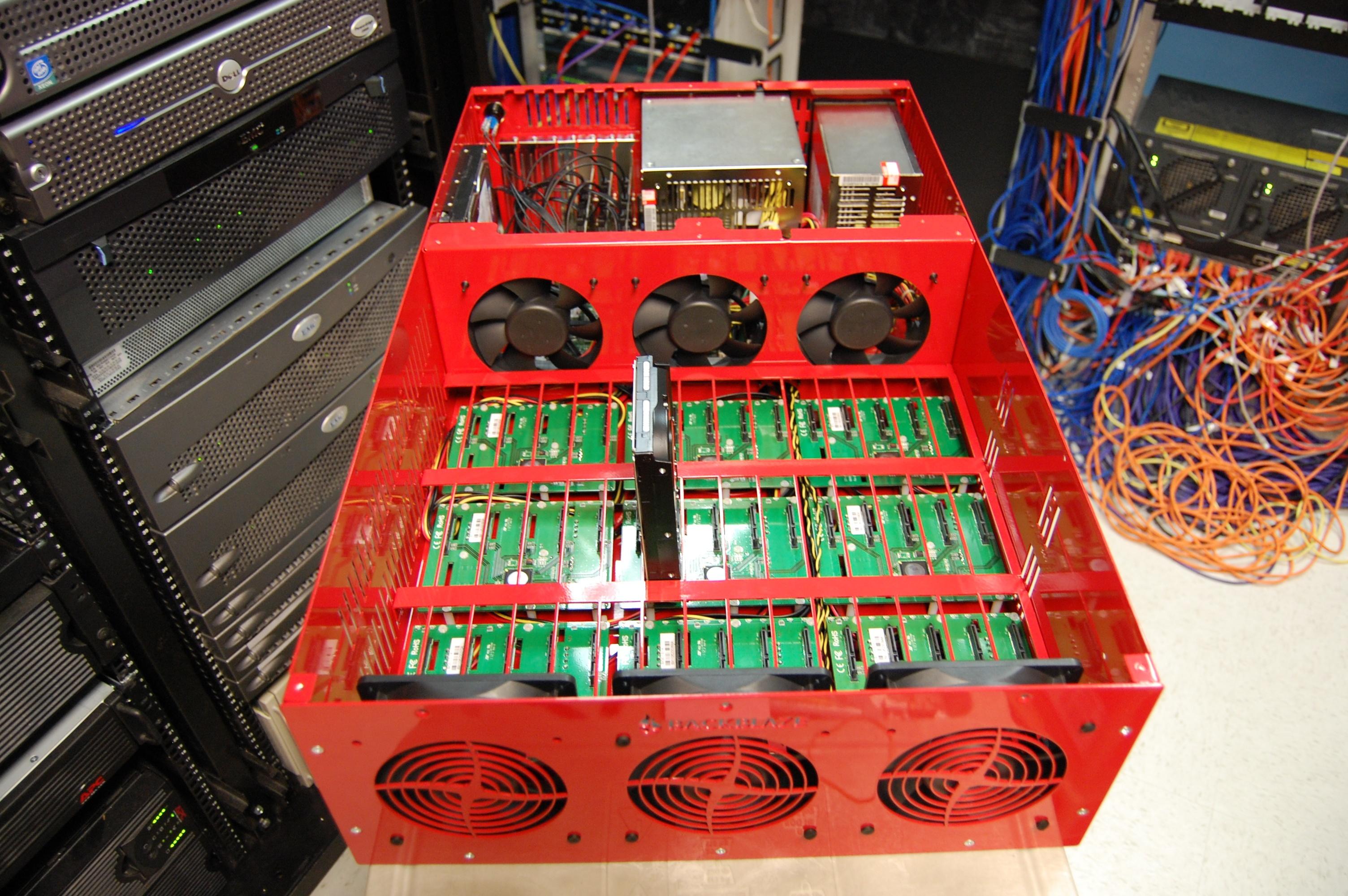 File Storagepod Backblaze 2 0 Exposed Jpg Wikimedia Commons