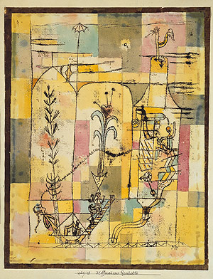 Tale à la Hoffmann, by Paul Klee (1921)