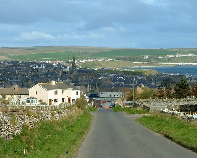 Thurso from the hill at Mountpleasant - geograph.org.uk - 8869