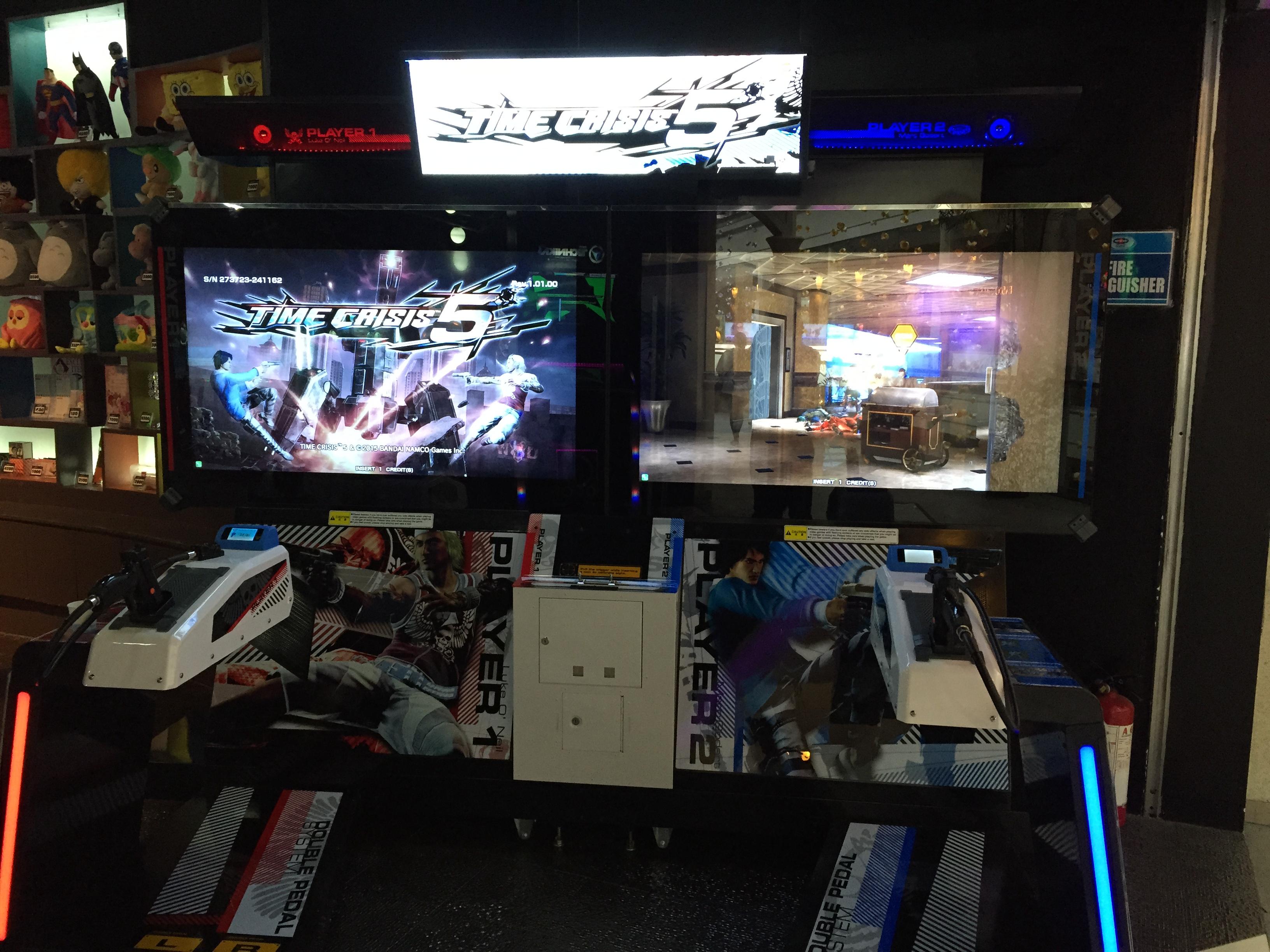 time crisis 5 arcade machine