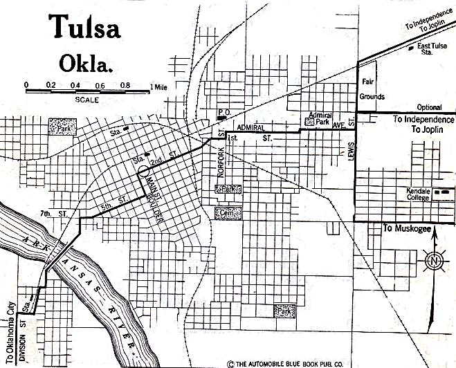 File:Tulsa OK Map 1920.   Wikipedia