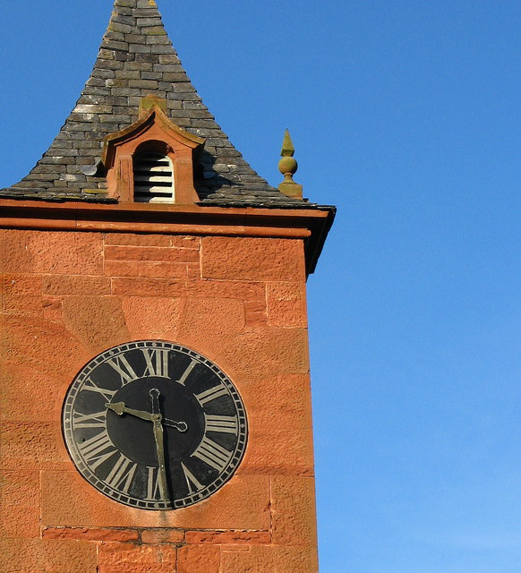 File:Tyninghame House Clock Tower - geograph.org.uk - 447593.jpg