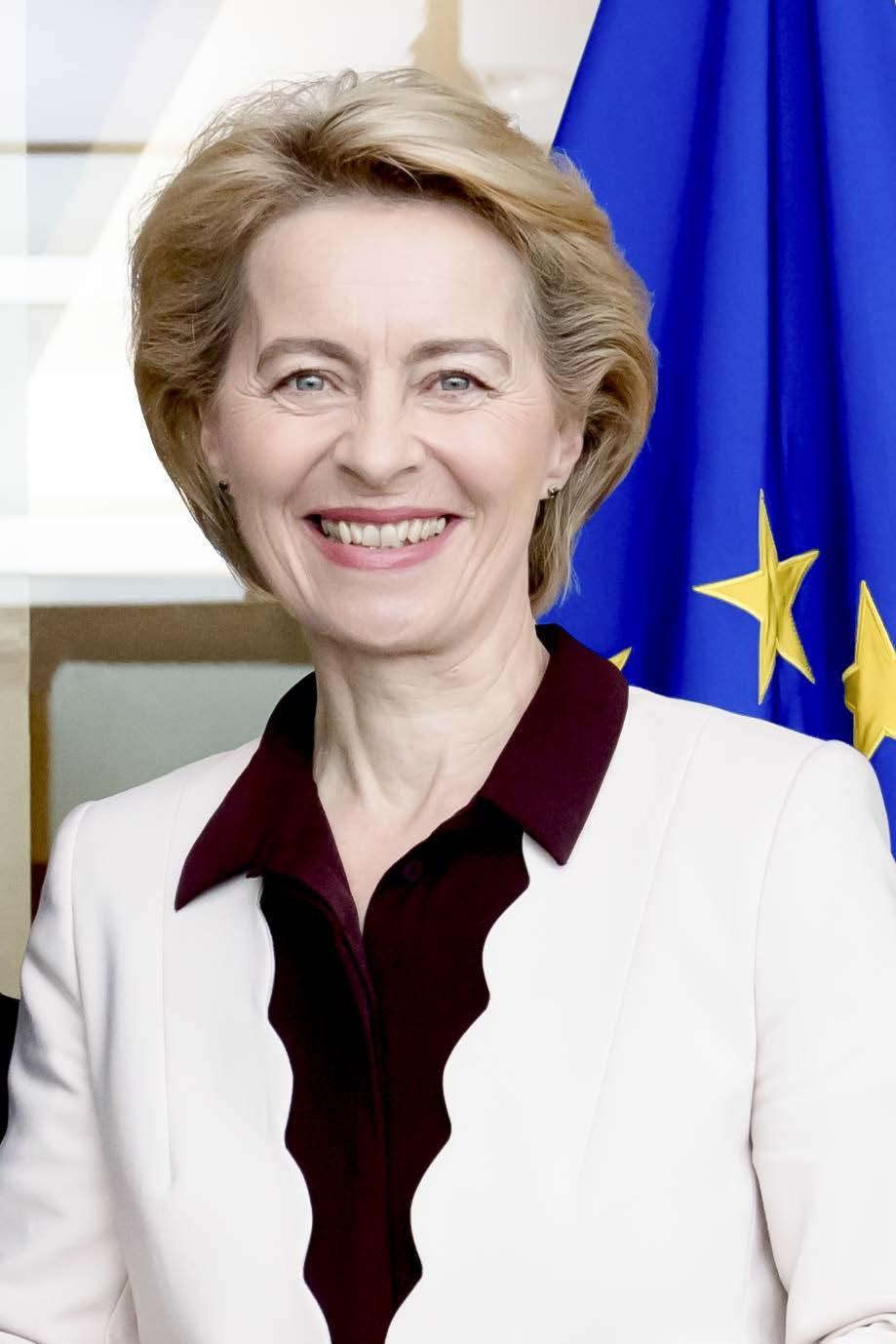 Ursula von der Leyen elected European Commission president ...  |Ursula Von Der Leyen
