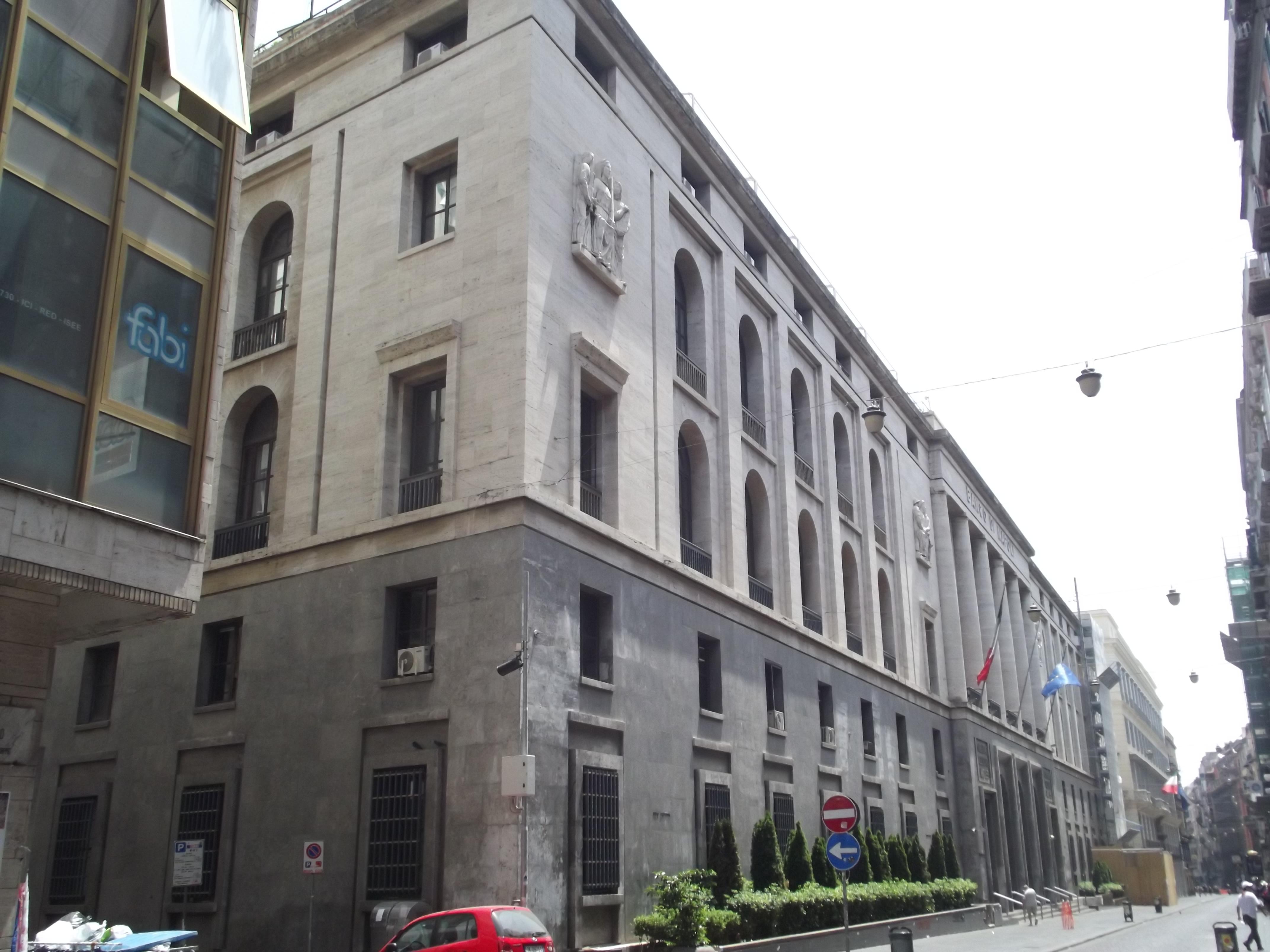 Lavoro Come Architetto Napoli palazzo del banco di napoli - wikipedia