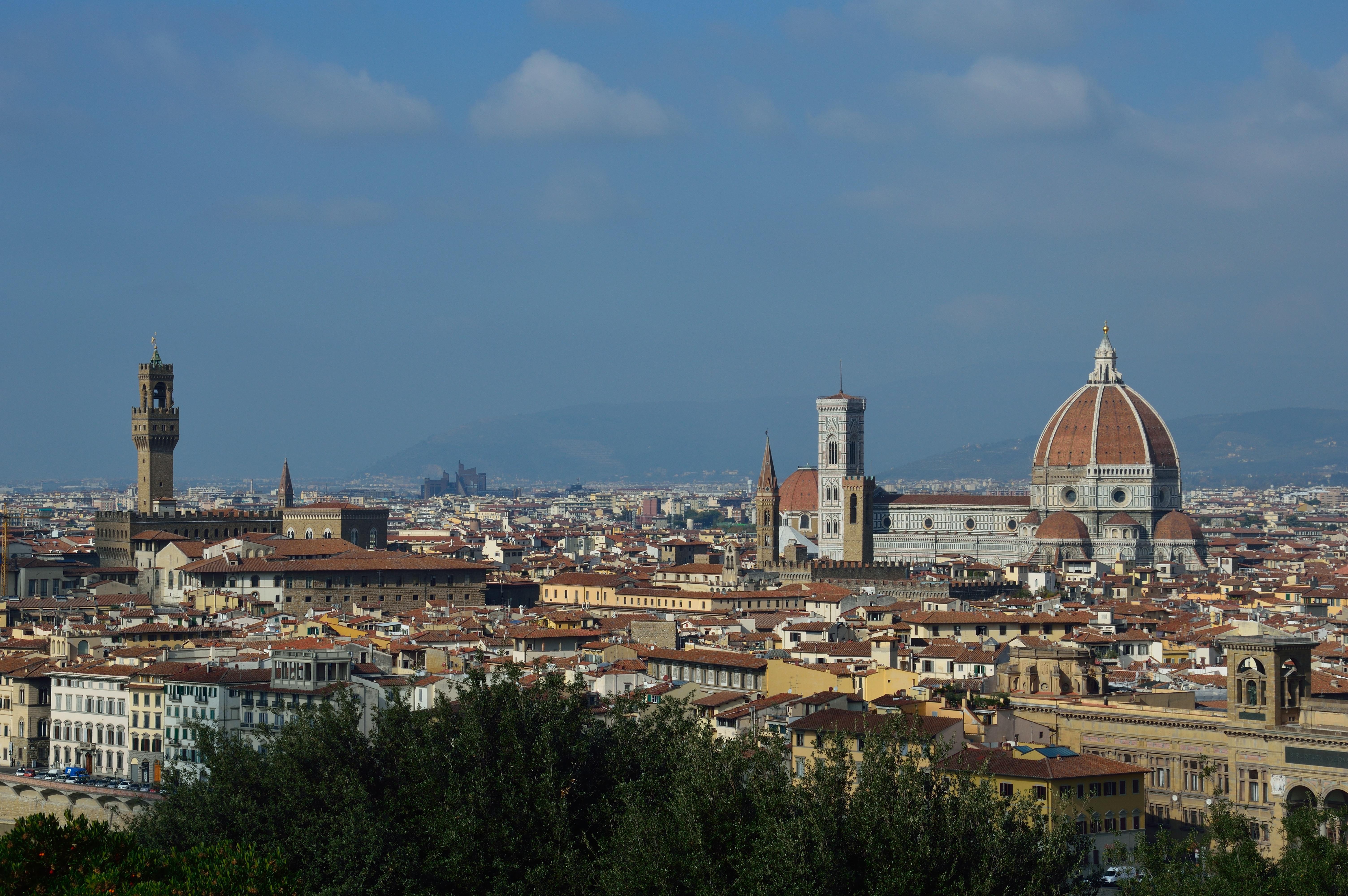 Firenze al mattino, vista da Piazzale MIchelangelo