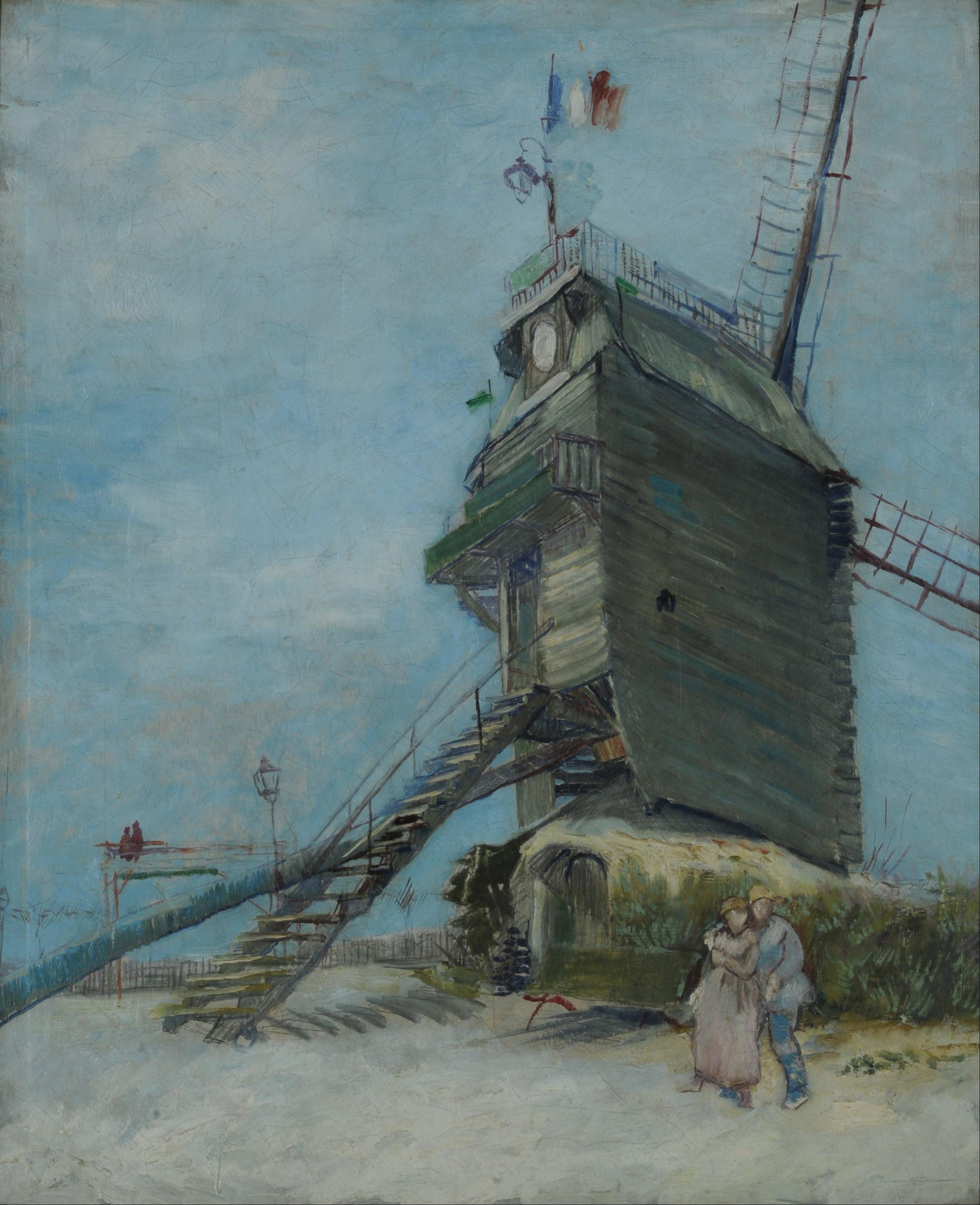 Vincent van Gogh Le Moulin de la Galette Google Art Project
