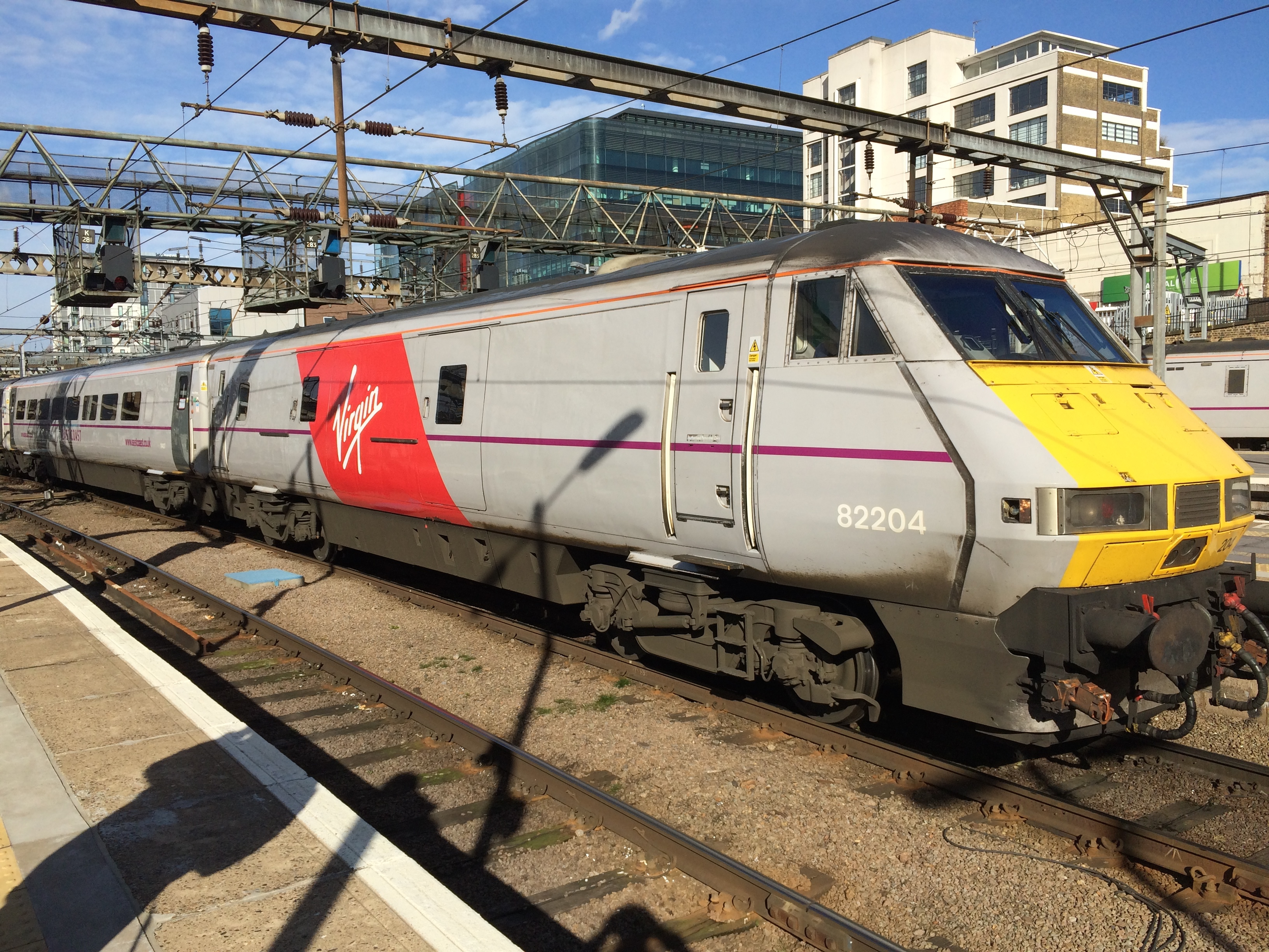 Virgin East Coadt To Newcastle Free Drink And Sbacks