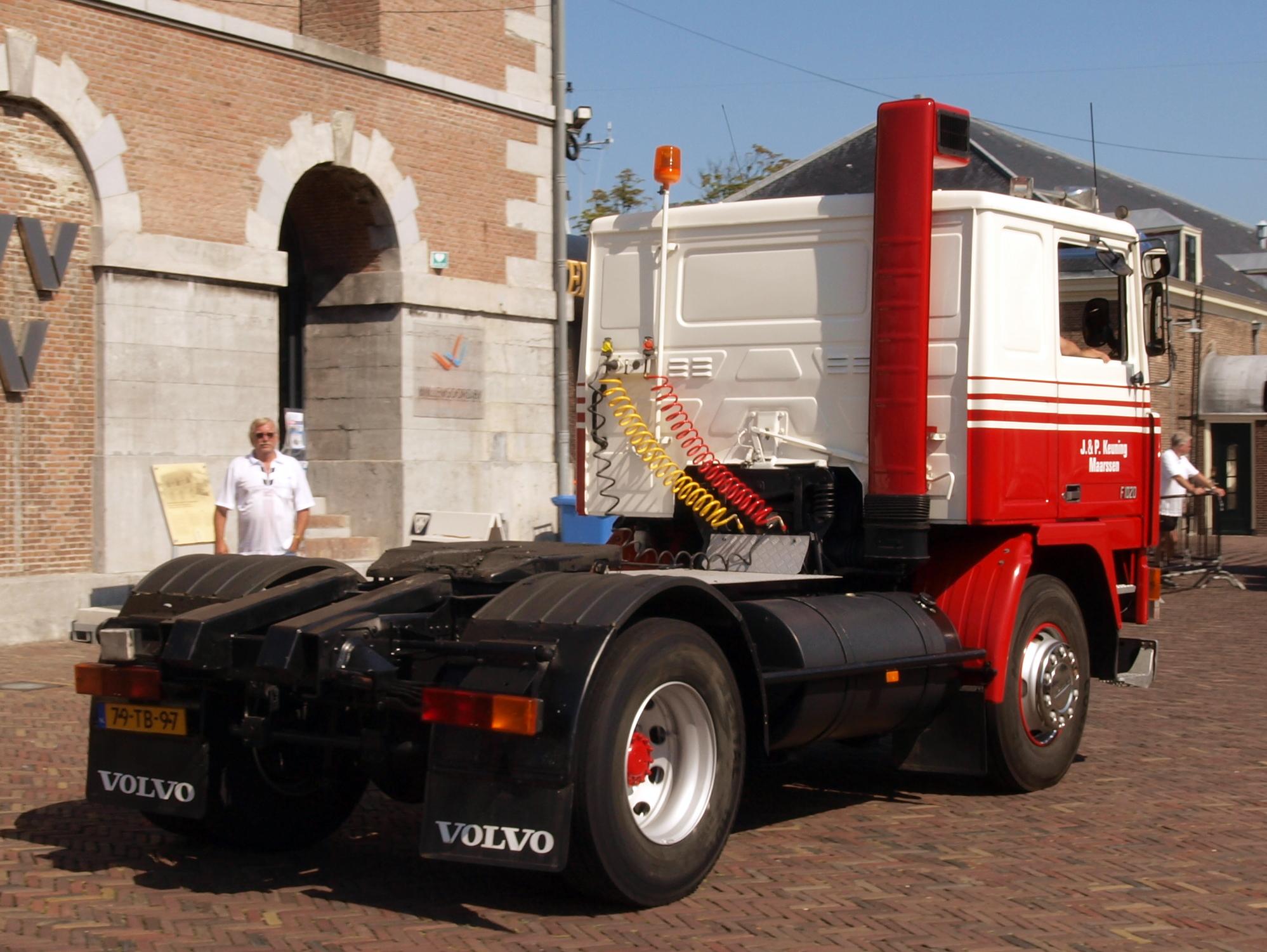 File Volvo F10 4x2 1980 Dutch Licence Registration 79