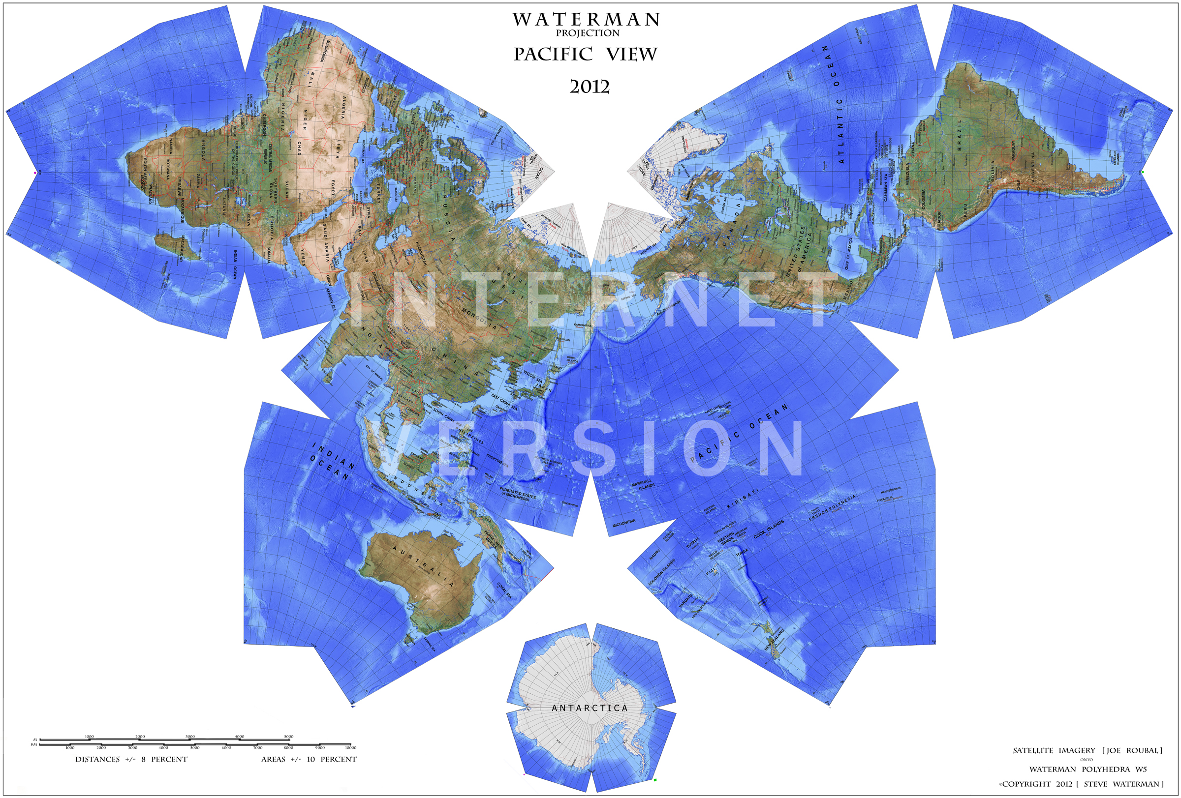 most accurate map projection Types of map projections even though it is nearly impossible to create an entirely accurate map projection there are uses for even the most imperfect depictions.