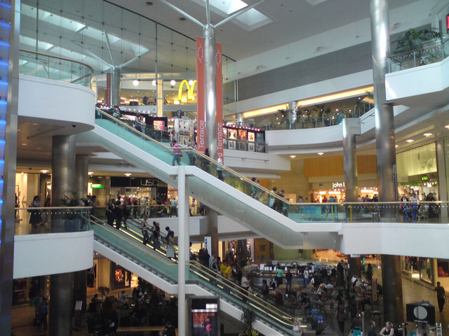The quays shopping centre