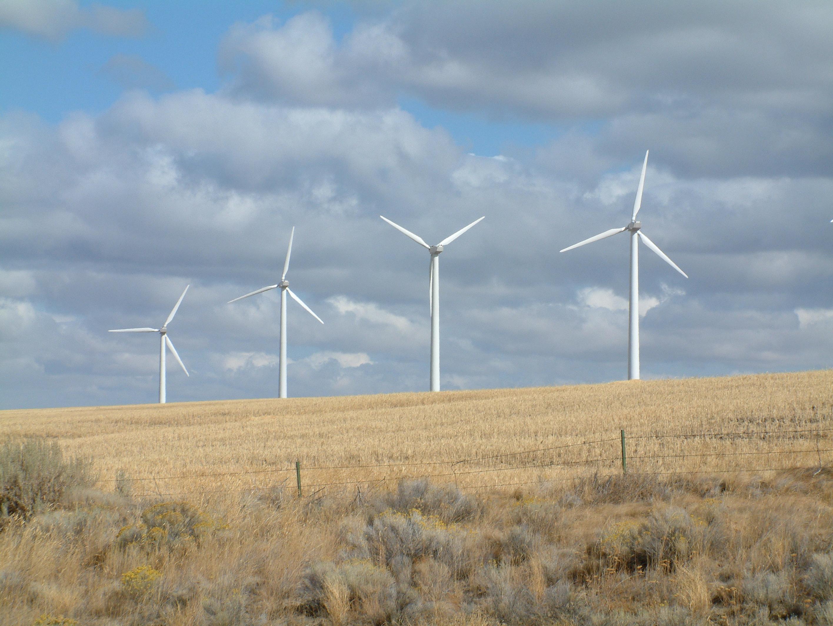 Wind Power Pics Wind Power in Oregon