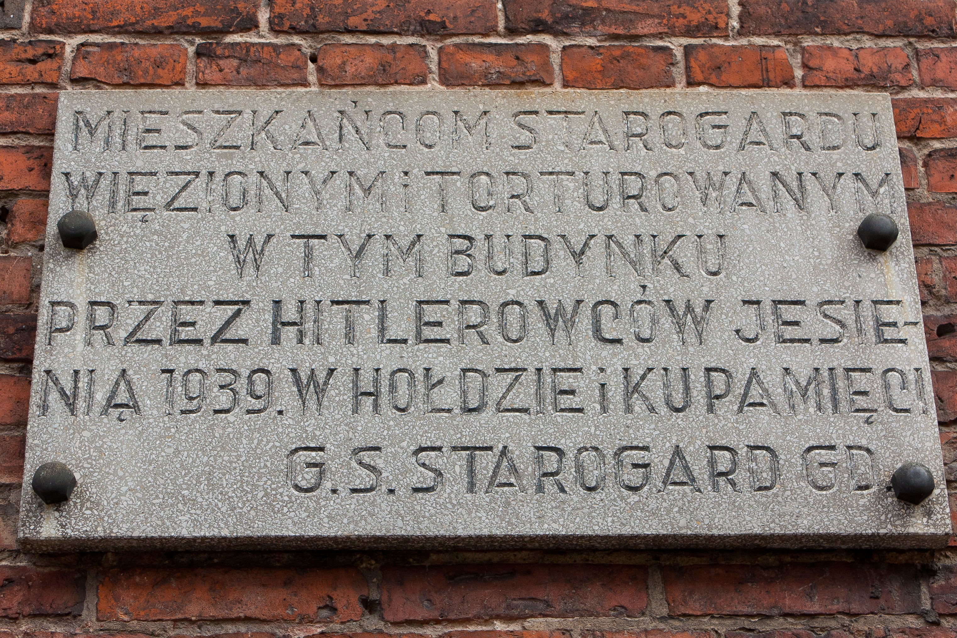 Bildergebnis für starogard gdanski synagoga