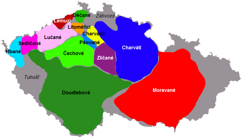 České kmeny