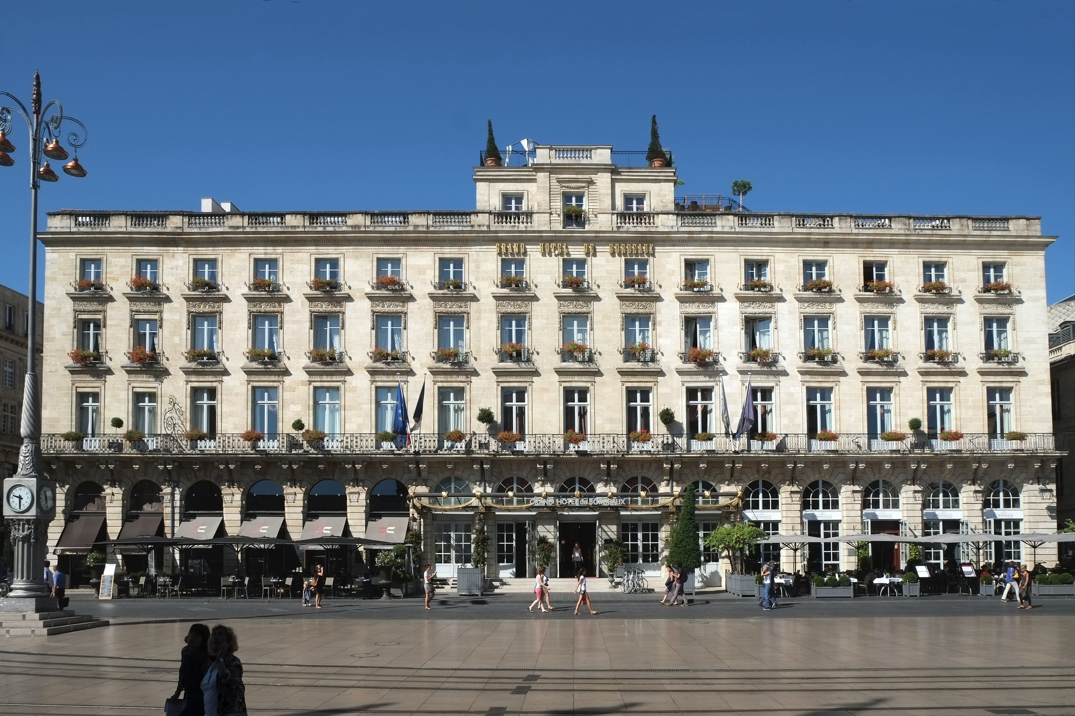 The Grand Hotel Bordeaux France