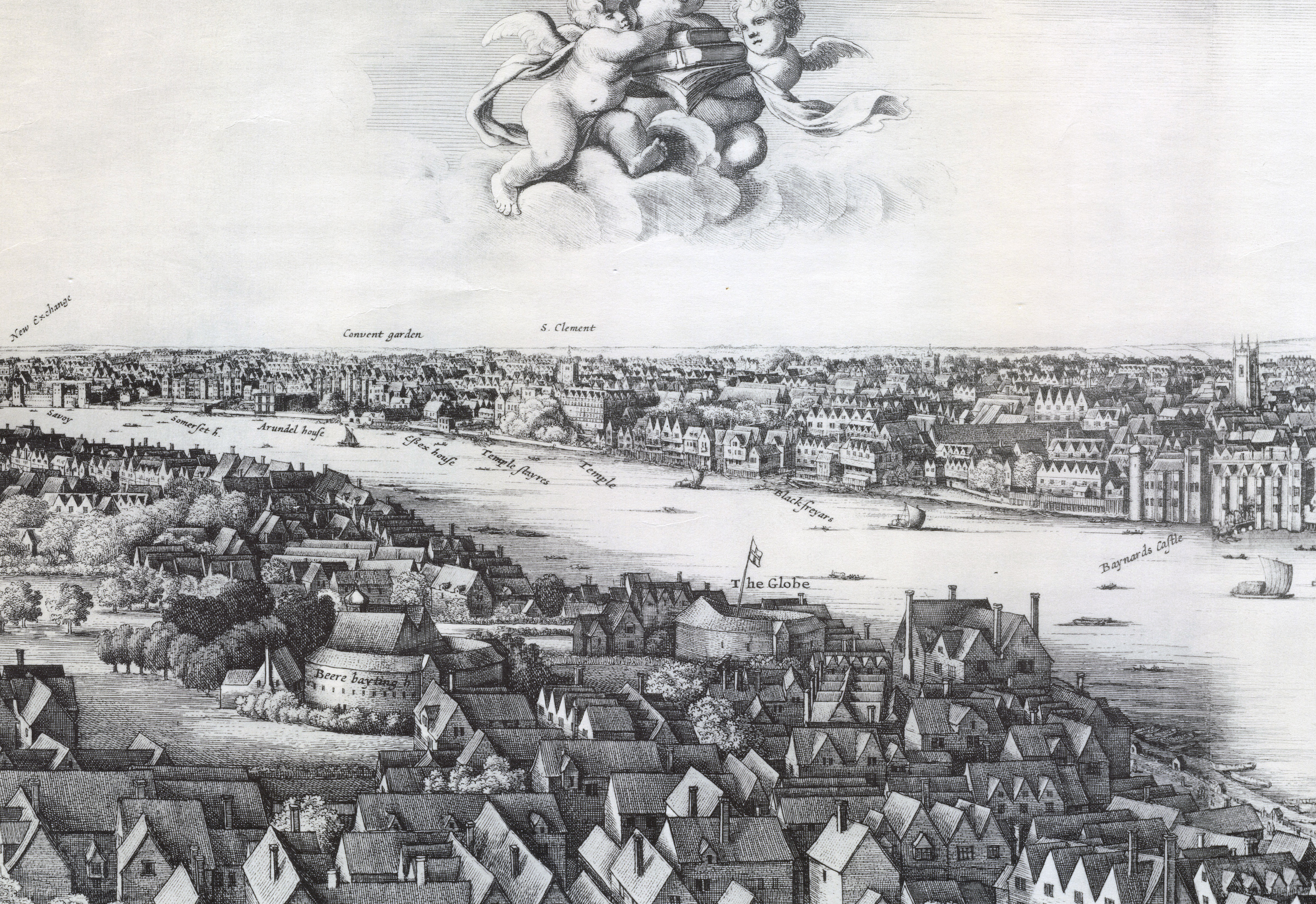 File:1647 Long view of London From Bankside - Wenceslaus Hollar (cropped).