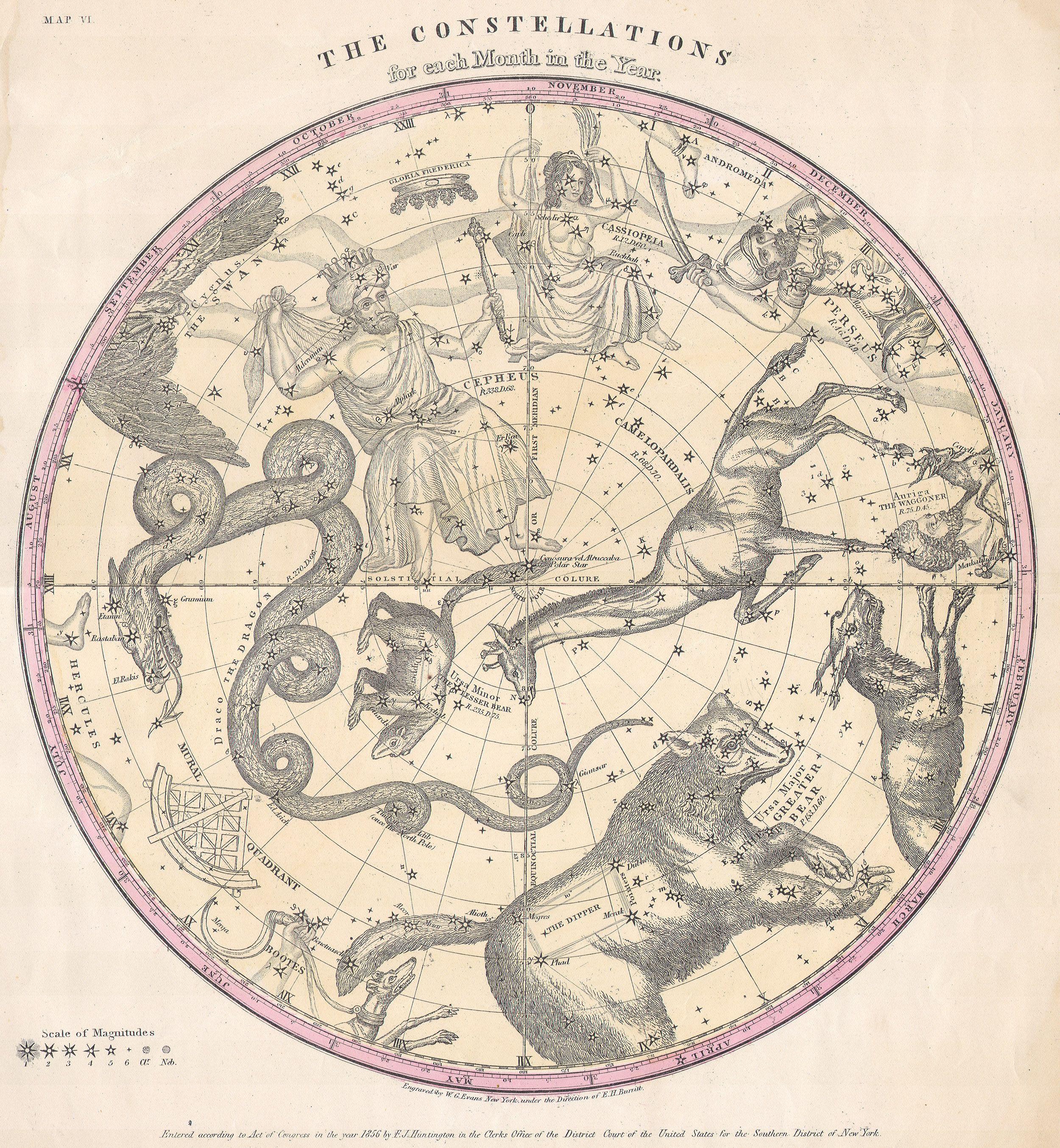 old navigational maps astronomy - photo #30