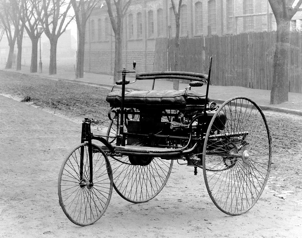 Benz Patent Motorwagen which is widely regarde...