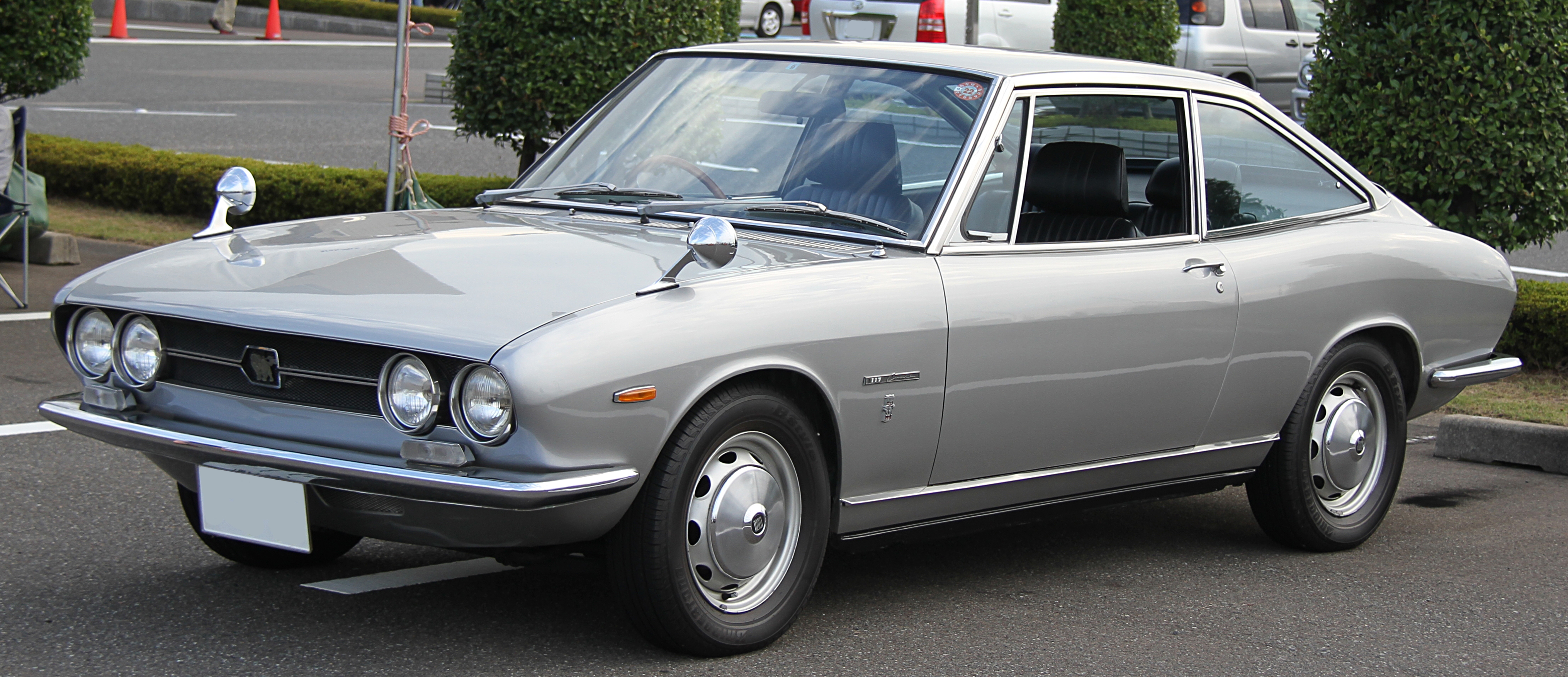 1968 isuzu 117 coupà infomation specifications weili