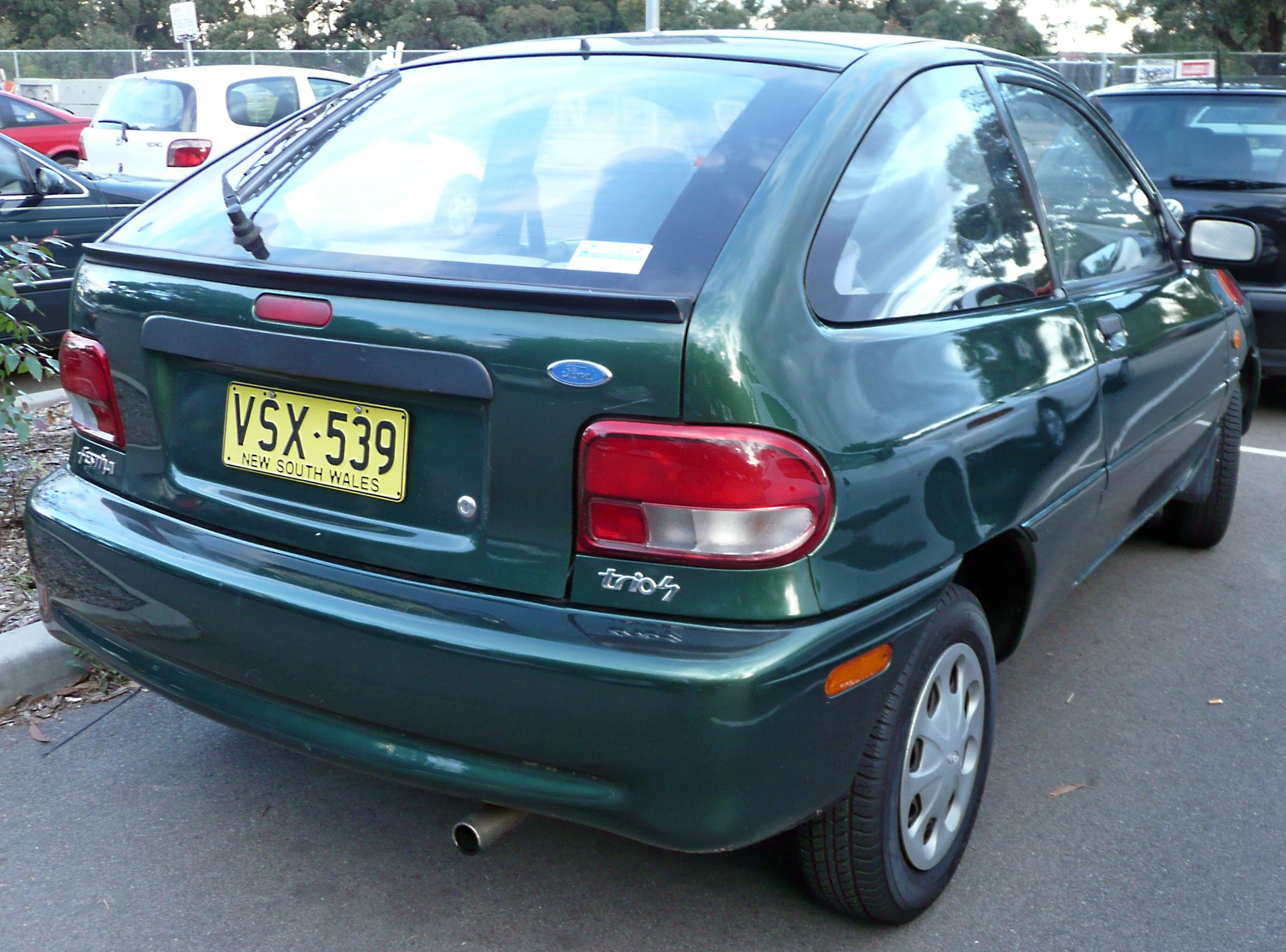 File1998 Ford Festiva WF Trio S 3 Door Hatchback 2009