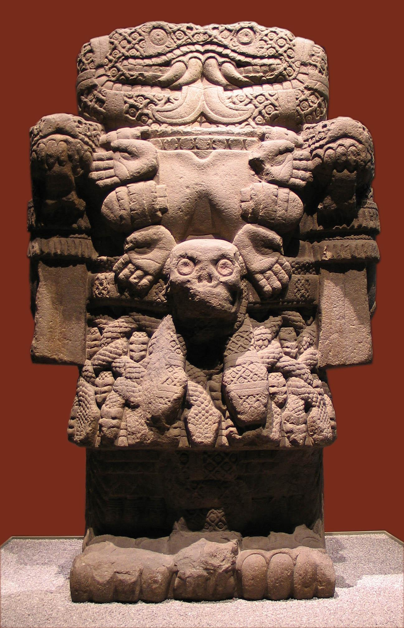 Coatlicue Mayan Statue