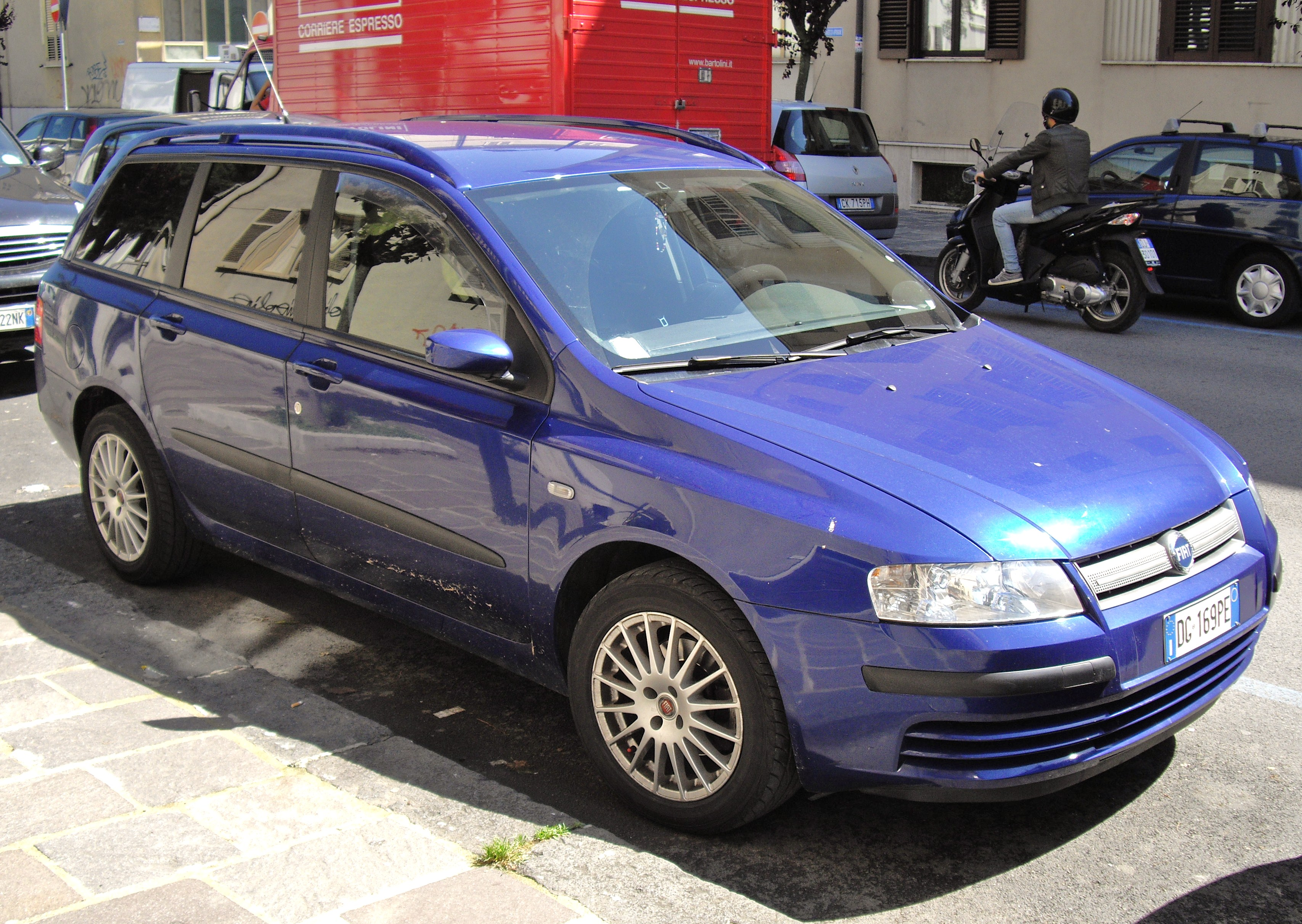 File 2007 Fiat Stilo Multiwagon Jpg Wikimedia Commons