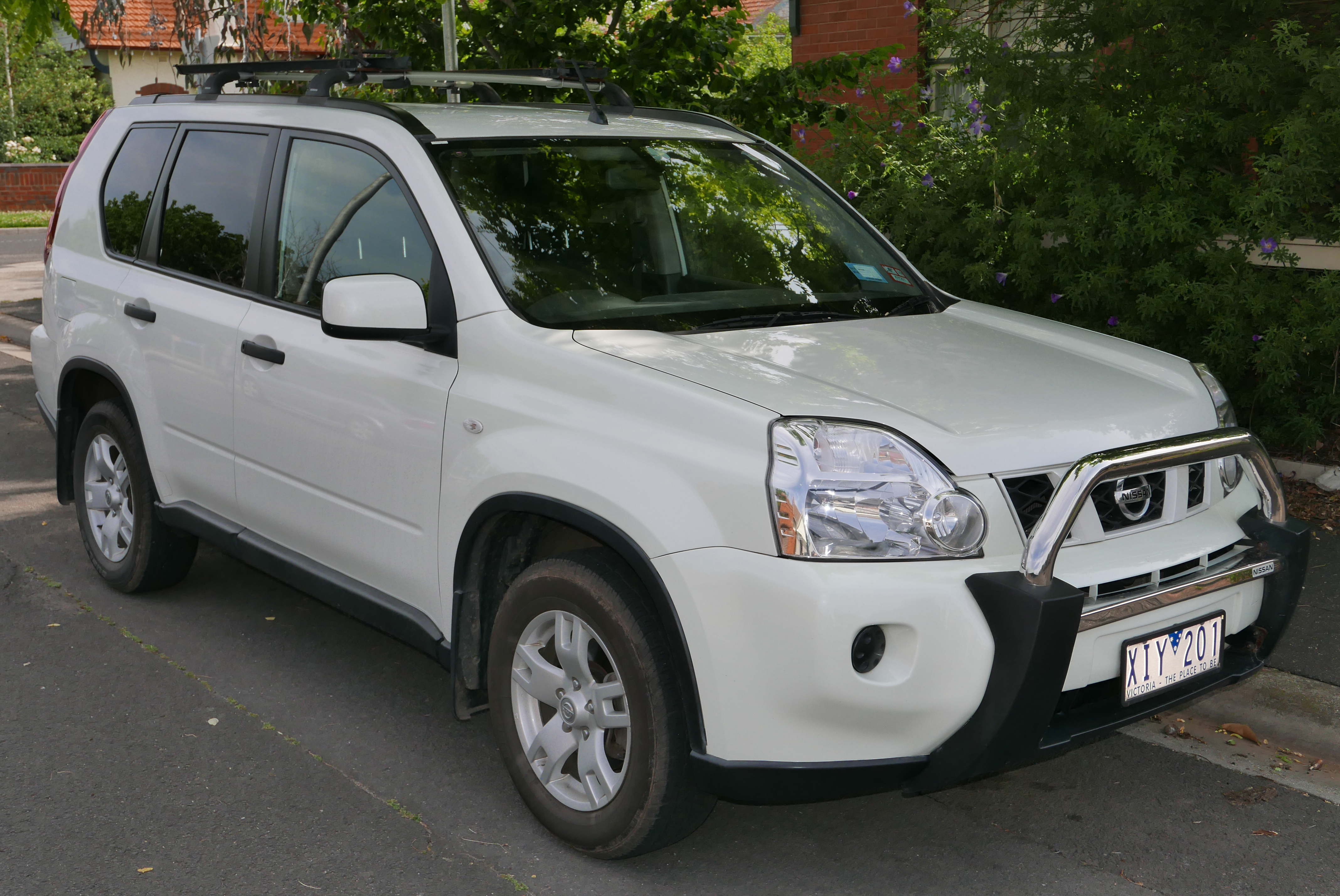 Nissan x-treme trail gives rise to a special x-trail.