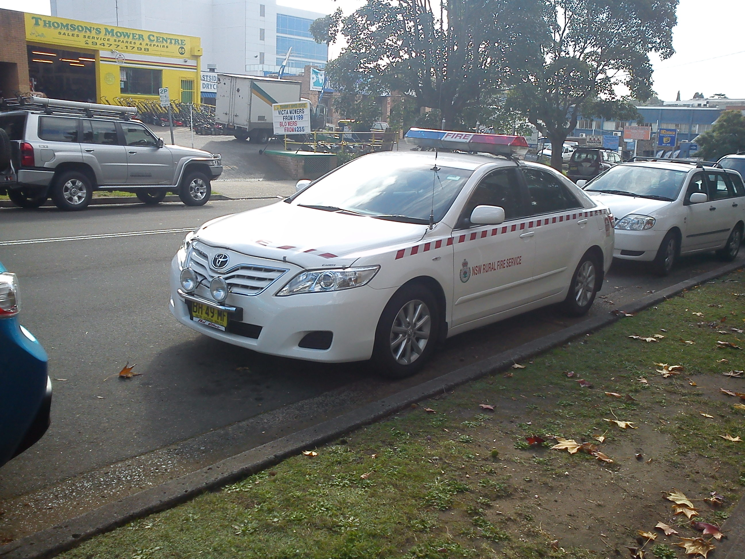 File 2010 Toyota Camry  Acv40r My10  Altise Sedan  New South Wales Rural Fire Service  2011