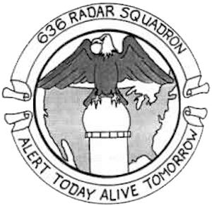 Emblem of the 636th Radar Squadron