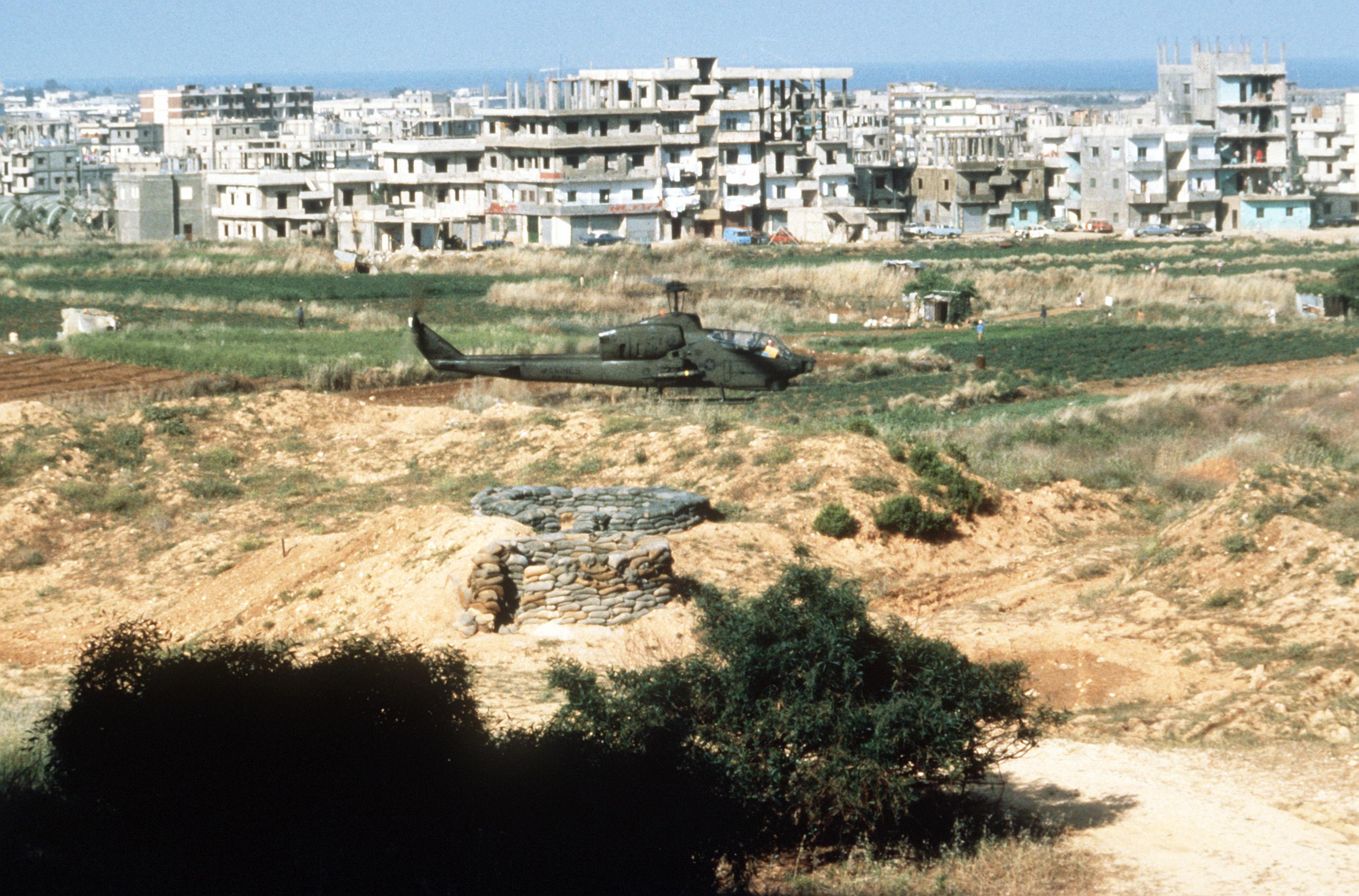 Multinational Force in Lebanon - Wikipedia