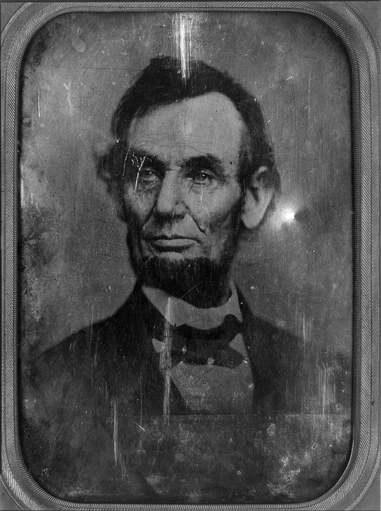 First Person Abarham Lincon Letter Civil War