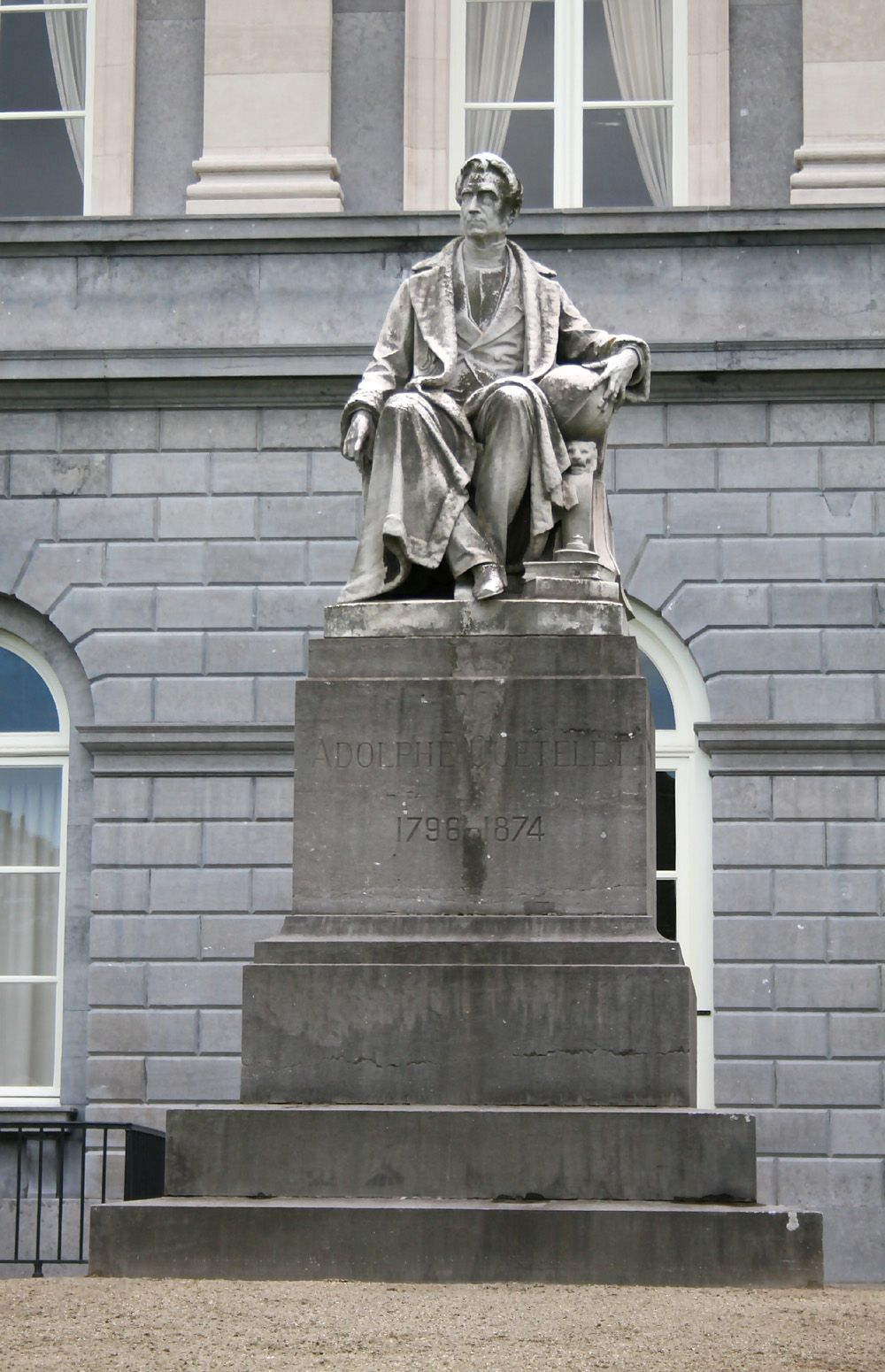 statue of Adolphe Quetelet