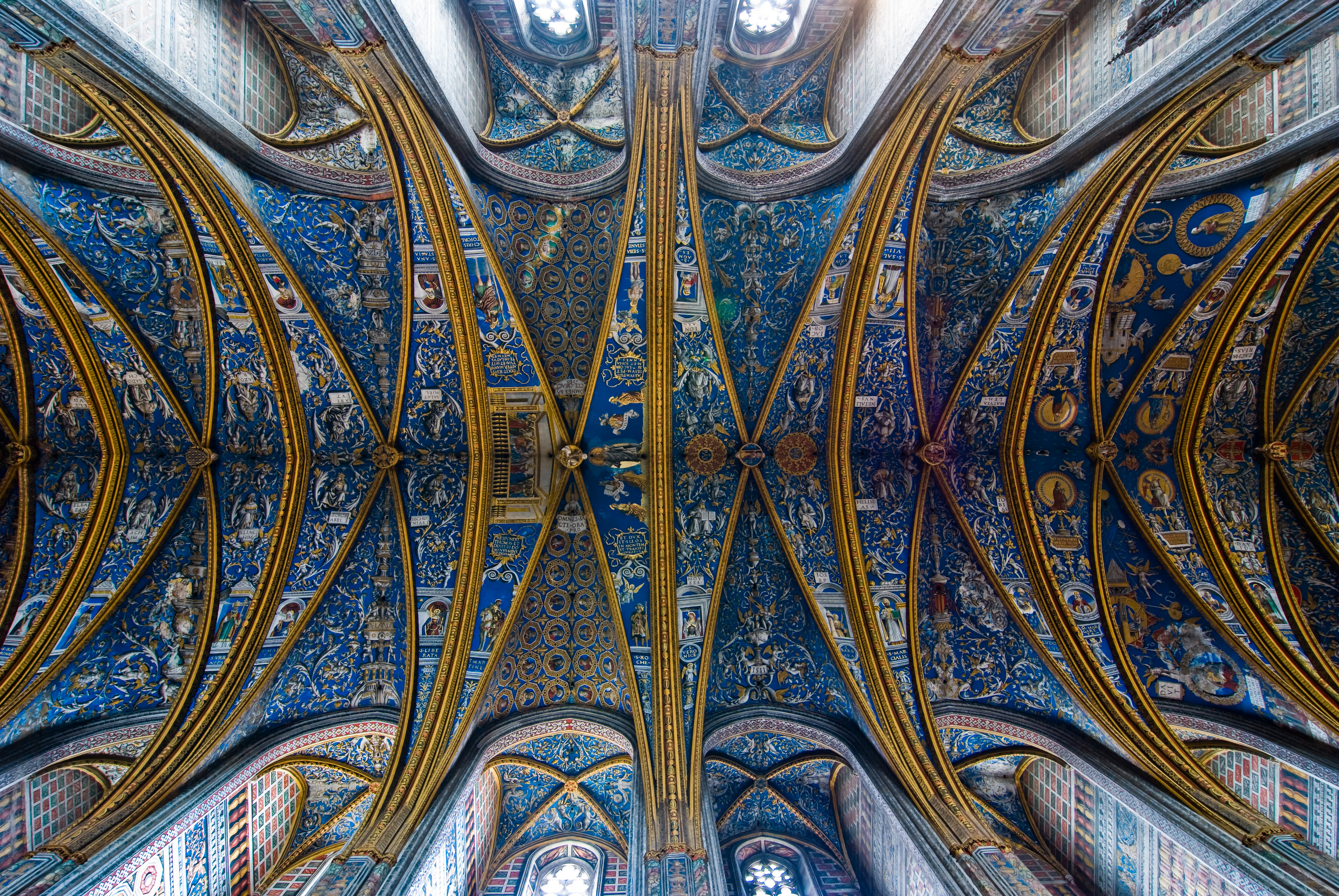 File Albi Cathedral Vault Jpg Wikimedia Commons